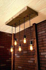 lovely rustic wood lighting pendant light ceiling fixtures chandelier basket weave reclaimed