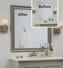 Decorating Bathroom Mirrors Ideas For Decorating Bathroom Mirrors