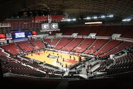 Stegeman Coliseum Seating Chart Map Seatgeek