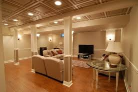 ideas for recessed lighting. Brilliant Drop Basement Ceiling With Recessed Lights Ideas For Finishing A Lighting H