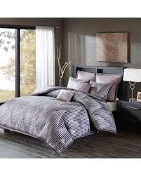 ashton park bedroom set. madison park ashton 7-piece king/california king duvet cover set in lavender bedroom