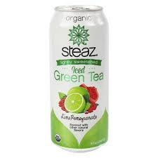 Steaz Lightly Sweetened Green Tea Amazon Com Steaz Lightly Sweetened Iced Green Tea Lime