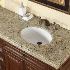 Double Sink Vanity With Granite Countertop