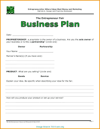Downloadable Business Plan Free Basic Business Plan Template Autosklo Pro