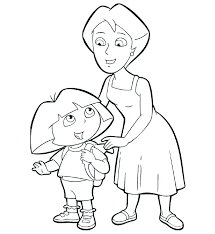 Dora Coloring Book Pdf Coloring Pages