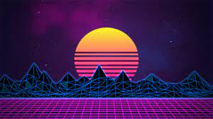 Retrowave Neon 80's Background - 4K by ...