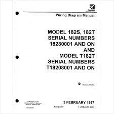 cessna 182 wiring diagram electrical manual 182s 182t on ebid Cessna 172R Checklist at Cessna 172r Wiring Diagram Manual