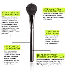 15 easy ways to clean makeup brushes brit co wash how
