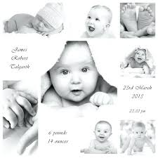 Sample Baby Announcement Black And White Birth Announcements Birth Announcement Clip Art Baby