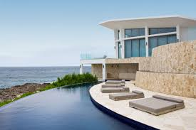 Curved Architecture Swimming Pool Minimalist Home Architecture Picture Gallery Also