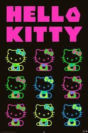 <b>Neon Party</b>, Hello <b>Kitty</b> Poster: 91.5cm x 61cm - Buy Online