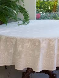 gorgeous 70 round tablecloth white wedding indian