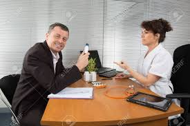 Pharmaceutical Representative Man Pharmaceutical Sales Representative Stock Photo Picture And