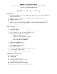Fine Decoration Asset Management Resume Asset Manager Resume Samples