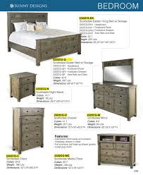 Sunny Designs Bedroom Furniture Sunny Designs Scottsdale Cg Bedroom Furniture With Prices O Als