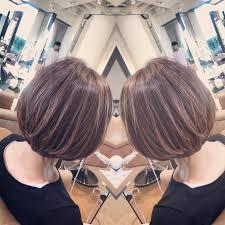 広がりやすい髪質にオススメひし形レイヤーボブ Bump By Atreve