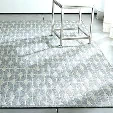 grey outdoor rug new crate and barrel indoor gray u89