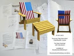american flag chair flag chair rocker combo woodworking plan usa flag camping chair