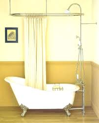 various shower attachment for tub hand held with claw foot tubs charming magnificent sh