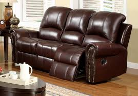abbyson living broadway 2 pc reclining italian leather sofa and chair set