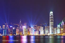 Where To See Symphony Of Lights Hong Kong The Modern Cinderella March 2011