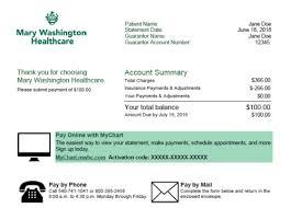 Pay My Bill Mary Washington Healthcare