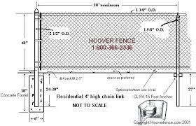 chain link fence post sizes. Unique Sizes Spacing Between Fence Posts Chain Link Installation Elegant  Post In Anchors Page Inside Chain Link Fence Post Sizes K