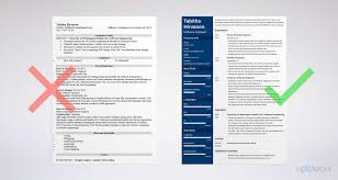 6 Months Experience Resume Sample In Software Engineer Software Engineer Resume Guide And A Sample [24 Examples] 21