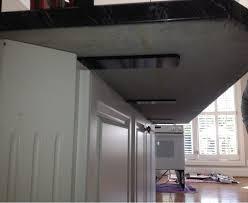 floating granite countertop support brackets adamhosmer com