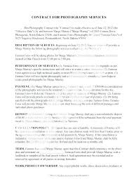 Service Agreement Samples Free Service Agreement Template Sample Contract For