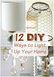 12 diy light fixtures and lamps these homemade light fixtures and lamps will add a