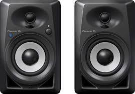 Pioneer DJ Studio Monitor, Black (DM40BT): Musical ... - Amazon.com