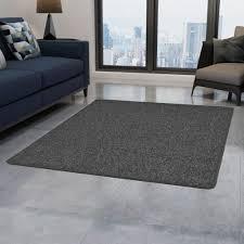Huberxxl Huber Xxl Teppich Getuftet 80 X 150 Cm Grau
