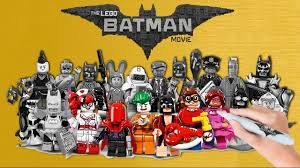 The LEGO Batman Movie Lego Minifigures Coloring Book Pages Video for Kids   Lego  batman, Lego batman movie, Batman movie