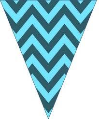 Triangle Banner Free Editable Chevron Pennant Banner