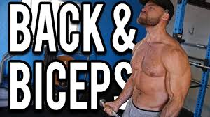 Gym Biceps Workout Chart Back And Biceps Workout Buff Dudes New Gym Routine 2019