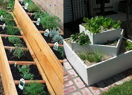 Tiered herb gardens www.