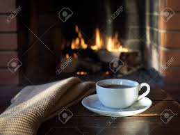 1)what inspired you to start your business? Fireplace With A Burning Fire Coffee Cup Drink Stock Photo Picture And Royalty Free Image Image 81562333