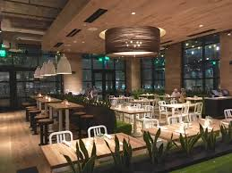 arguably the healthiest dining option amidst the array of legacy west eateries true food kitchen offers health driven seasonal menus featuring fresh