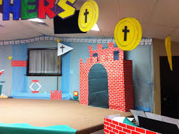 Pin by Melisa Jacobson on VBS | Video game decor, Mario bros party, Vbs
