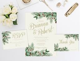 find your christmas wedding invitations mywedding Wedding Invitations Christmas christmas wedding invitation with pine branches and holly berries wedding invitations christian
