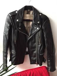 Burberry Prorsum Size Chart Motorcycle Biker Jacket In 2019 Evolving My Style Smartly