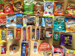 Junk Food Vending Machines Magnificent All 48 Snacks In Our Office's New Vending Machine Ranked Los