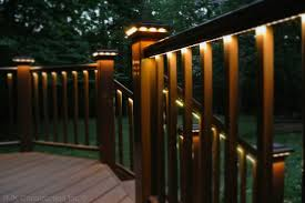led deck lighting ideas. deck with rail lighting traditionalporch led ideas e