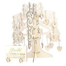Guest Sign Book Family Tree Wedding Guest Book 3d Wooden Guest Sign Book Rustic