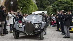 This perfect 1:8 scale recreation of the bugatti 57sc atlantic is modelled on chassis 57374 as it was originally delivered to victor rothschild, 3rd baron rothschild, in 1936. 1938 Bugatti 57sc Atlantic Owned By Ralph Lauren Wins At Concorso D Eleganza Villa D Este