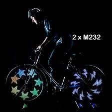 M232 Wheel Light Bicycle Accessories Sporting Goods Bike Wheel Light Led 32