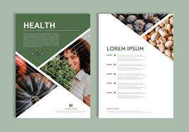 Magazine Layout Template Vector Free Download