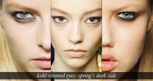 kohl eyeliner makeup trend