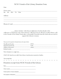Donation Form Template For Non T Request Forms Letter Free